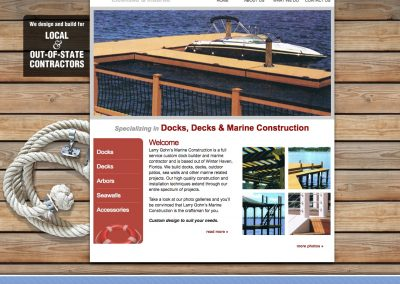 Larry Gohn's Marine Construction
