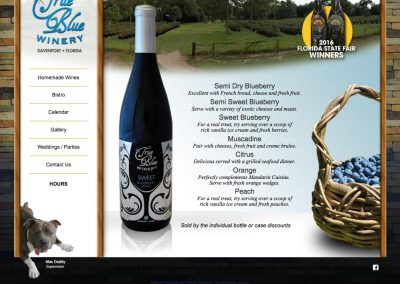 True Blue Winery