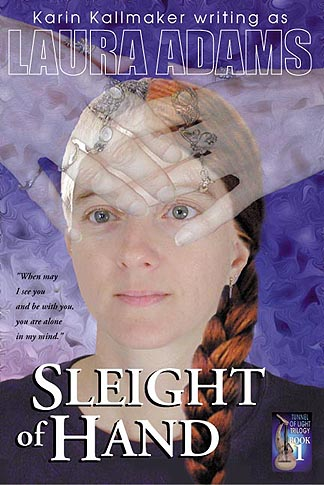 Sleight of Hand by Laura Adams Book Cover
