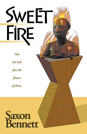 Sweet Fire by Saxon Bennett book cover