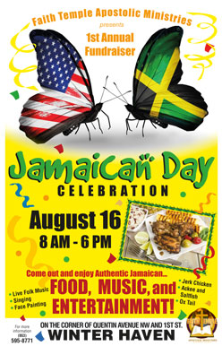 Jamaican Day Poster