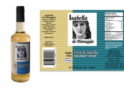 ISABELLA DE RIMAGGIO ISABELLA DE RIMAGGIO French Vanilla Gourmet Syrup