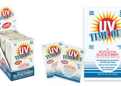 UV Time Out Package Design and Display Design