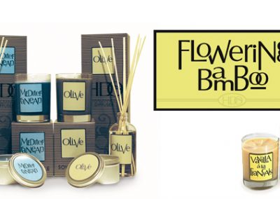 Flowering Bamboo Package and Label Design