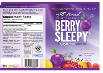 Berry Sleepy Pouch