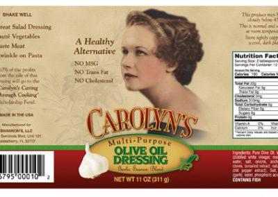 Carolyn's Multi-Purpose Olive Oil Dressing