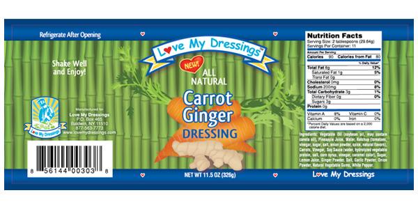 Carrot Ginger Dressing