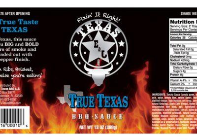 True Texas BBQ Sauce