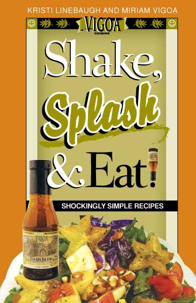 Shake, Splash & Eat Book Cover