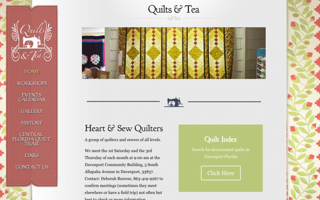Quilts and Tea