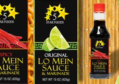 5 Star Foods Lo Mein Sauce