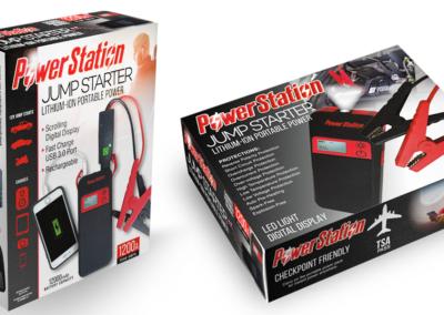 PowerStation Jump Starter Package Design