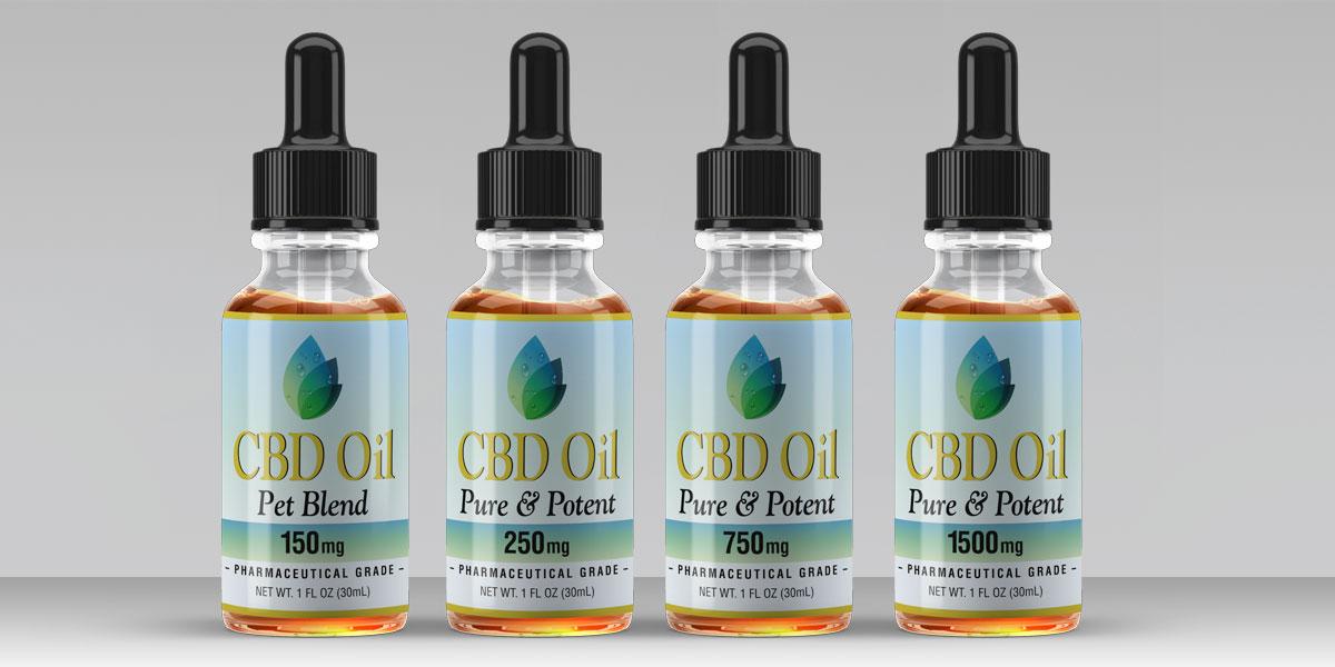 Price Rite Pharmacy Oils Label Design