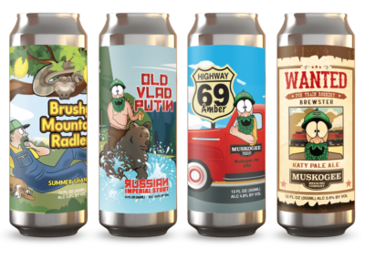 Muskogee Brewing CompanyMockups 2020
