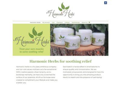 Harmonic Herbs Web Site
