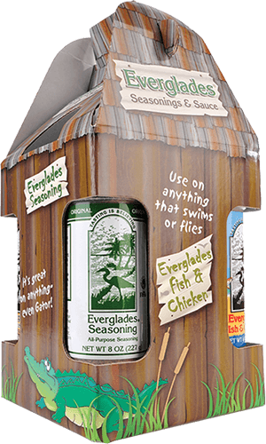 Everglades Seasoning Collector's Package design