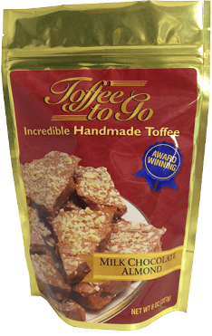 Toffee to Go Bag Design