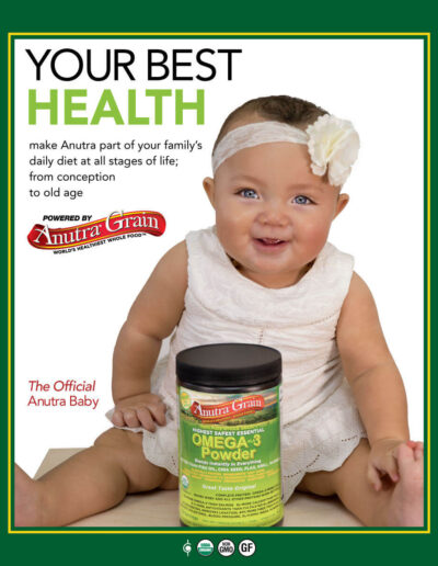 Anutra Grain Omega 3 Baby Poster