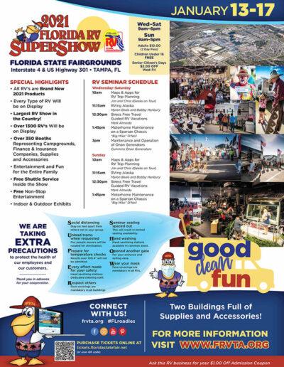 FRVTA 2021 Super Show Poster