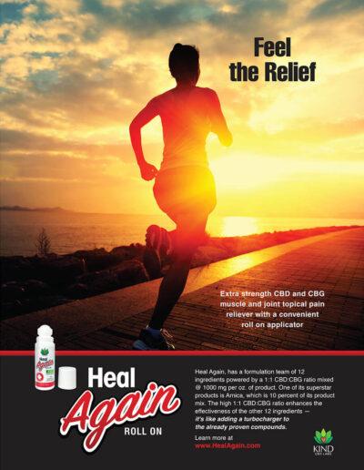 Heal Again Poster